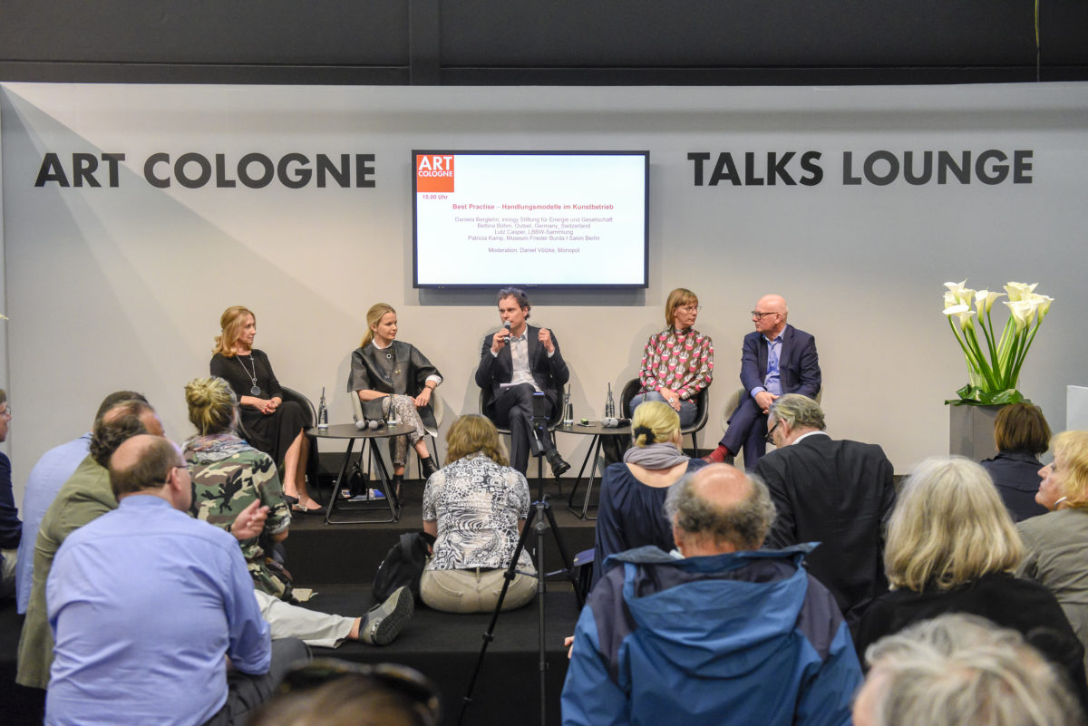 Art Cologne Talks 2018: Best Practise – Handlungsmodelle im Kunstbetrieb