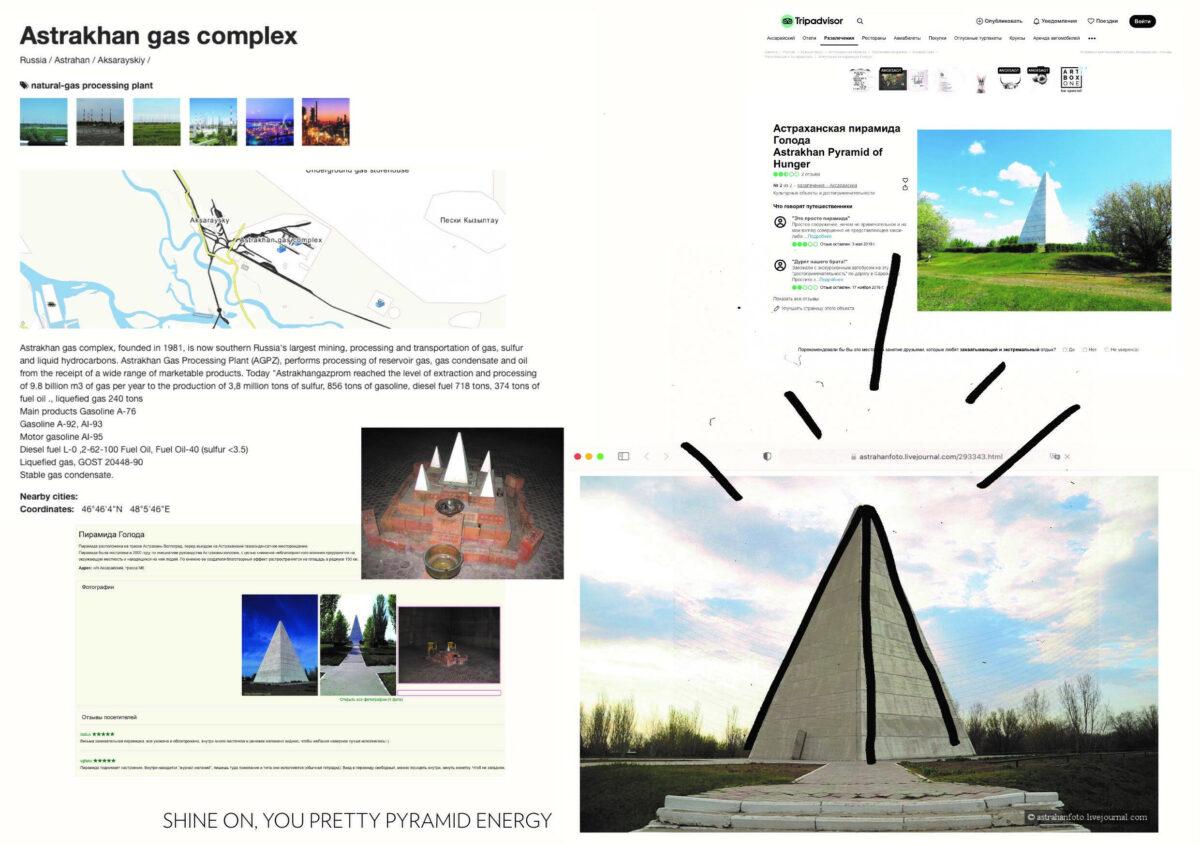 Lola Göller: Shine on, you pretty pyramid energy!